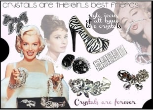 Style Icons Of All Time Love Crystals |Crystals Are Forever|Crystals are the girls best friends