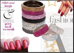 Match your nail varnish to your bangle