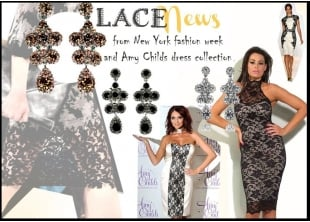 Team Up your Lace Dress with Lemonade Crystal Lace Earrings
