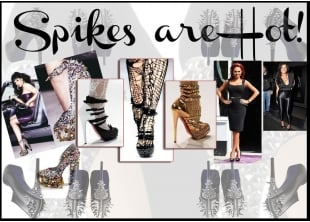 Spikes are Hot! | Spikes Shoes | Shoes with Spike Backs | Spike Accessories