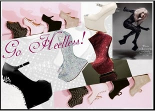 Go Heelless ! | Heelless shoes | High Fashion styles | Latest Trends
