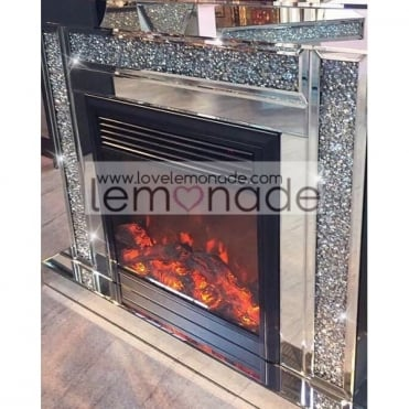 Crushed Diamonds Fireplace