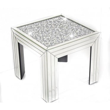 Crushed Diamonds Side Table
