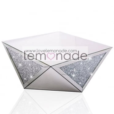 Crushed Diamonds Triangle Coffee Table