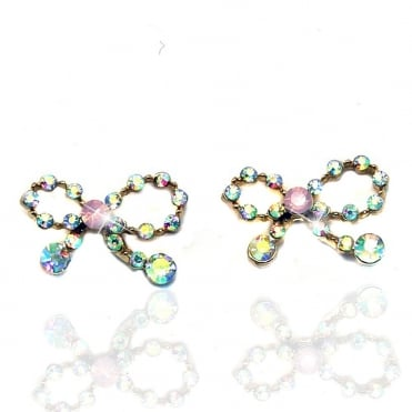 Crystal Sparkly Delicate Bows Multi Colour