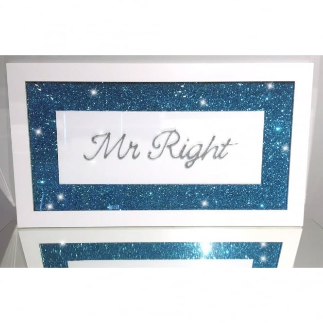 Glitter Pic - Mr Right Blue