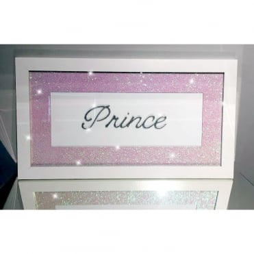 Glitter Pic - Prince Pink
