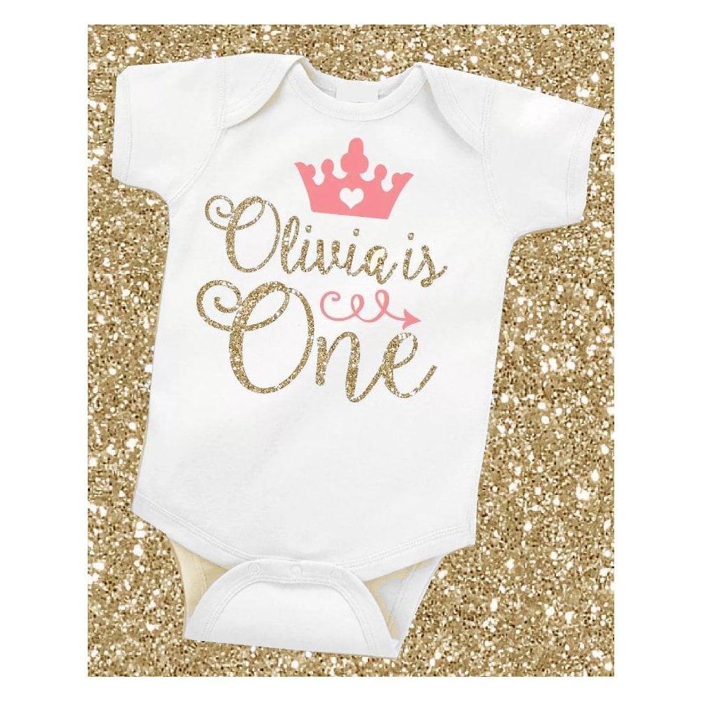 9ef924090ff9e Lemmy Personalised Age BabyGrow Gold Diamond