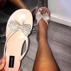 aa2a12c90e095b Lemonade Crystal Glitz Flip Flop   size 3 only   - SHOP SHOES from ...