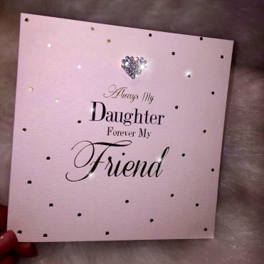 Lemonade 'Always Daughter Forever Friend' Card