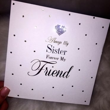 Lemonade 'Always My Sister Forever my Friend' Card