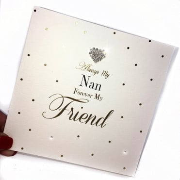 Lemonade 'Always Nan Forever Friend ' Card