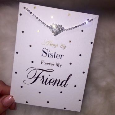 Lemonade 'Always Sister,Forever Friend' Bracelet Card