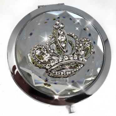 Lemonade Crown Topped Compact Mirror
