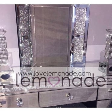 Lemonade Crushed Ice Vanity Mirror