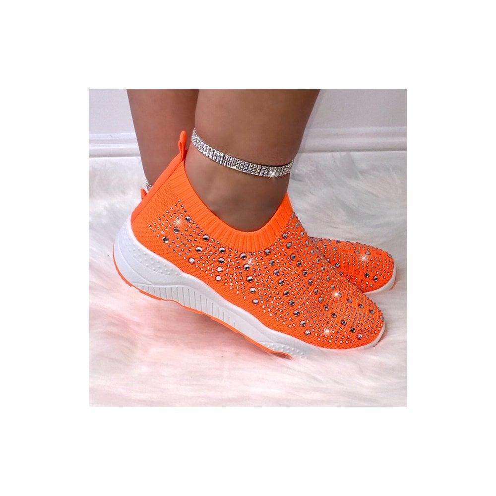 orange neon shoes ebay 64ed9 cb9ed