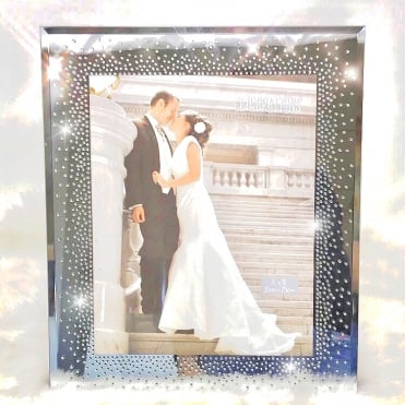 Lemonade Crystal Celebrations Photo Frame 8x10