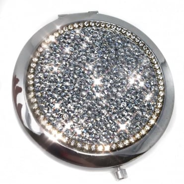 Lemonade Crystal Compact Mirror