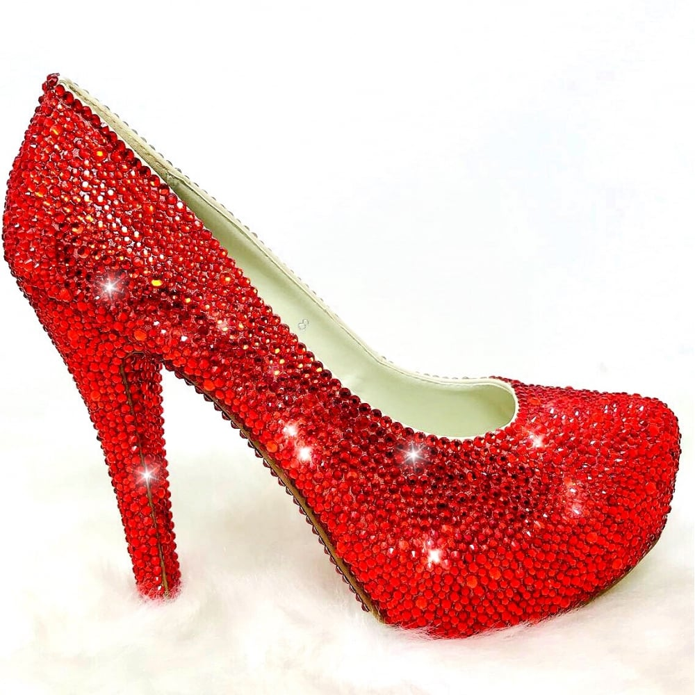 c00e641c7 Lemonade Crystal Couture Heels Red     SIZE 8 ONLY     - SHOP SHOES from  Lemonade UK