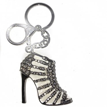 Lemonade Crystal High Heel Keyring