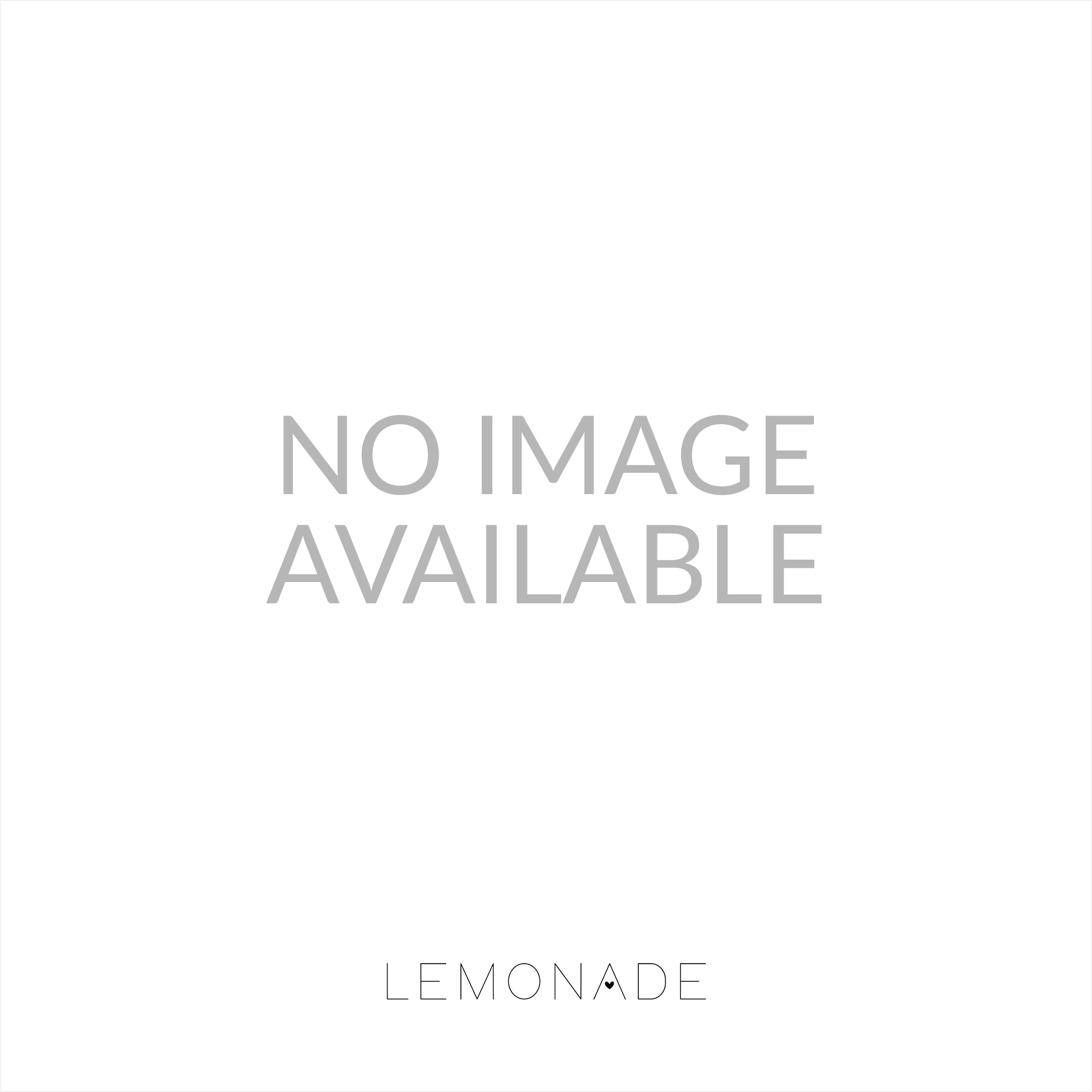 Lemonade Crystal Jewels Dolly Shoes Silver