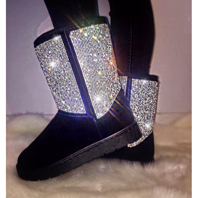 Lemonade Crystal Luxe Boots