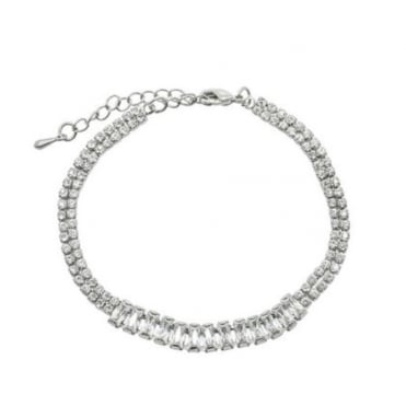 Lemonade Crystal Spinal Link Bracelet