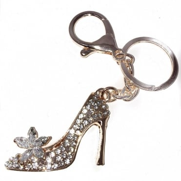 Lemonade Crystal Stiletto Keyring