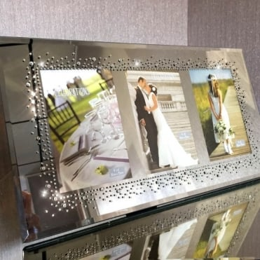 Lemonade Crystal Trio Celebrations Photo Frame 4x6