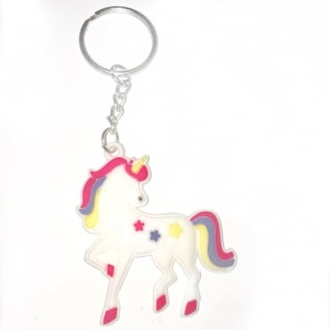 Lemonade Dreamy Unicorn Rubber Keyring