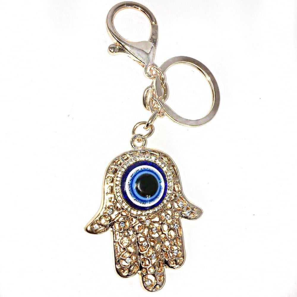 Lemonade Evil Eye Keyring Gold - SHOP ACCESSORIES from Lemonade UK 92f18b08a10f
