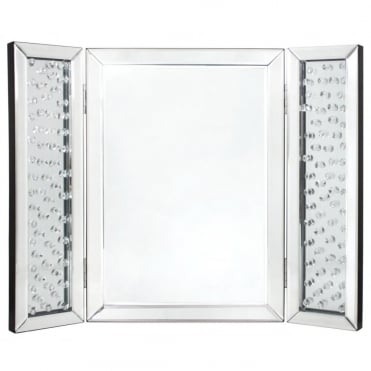 Lemonade Floating Diamond Vanity Table Mirror