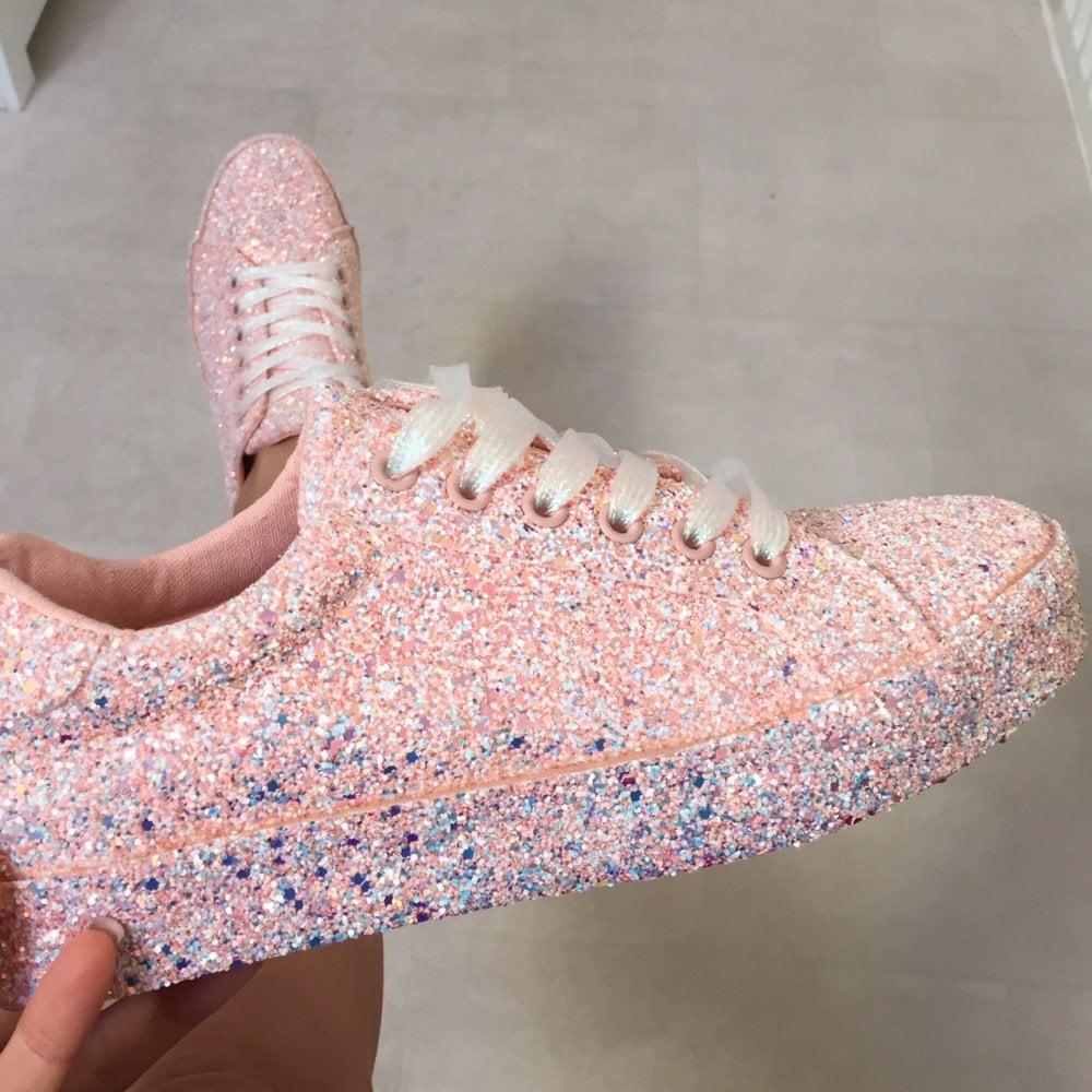 b74a2e103e31 Lemonade Glitter Pink Fizz Sneakers - SHOP SHOES from Lemonade UK