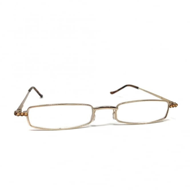 Lemonade Gold Arm Reading Glasses +1.00, +1.50, +1.75, +2.00, +2.25