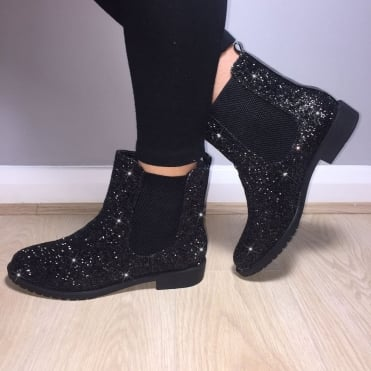 Lemonade Impulse Chelsea Ankle Boots Black