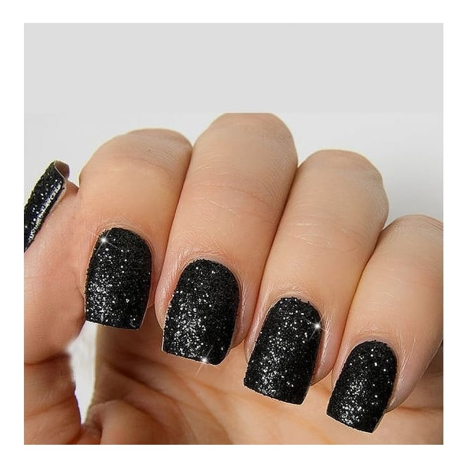 Lemonade Just Dip Glitter Nails Black