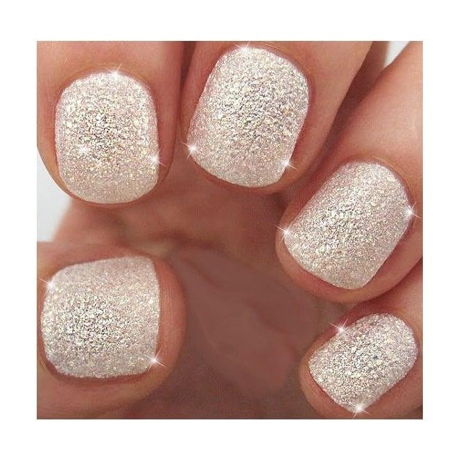 Glitter Dazzling Nails Kit White Xmas