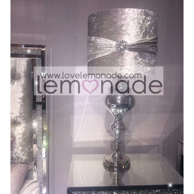 Lemonade Luxury Lamp With Crystal Decor