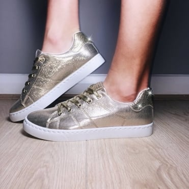 Lemonade Metallic Trainers Gold SIZES 2 TO 6
