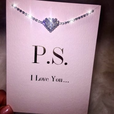 Lemonade 'P.S. I Love You' Bracelet Card