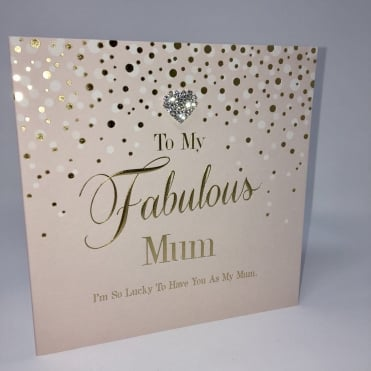 Lemonade 'To My Fabulous Mum' Card