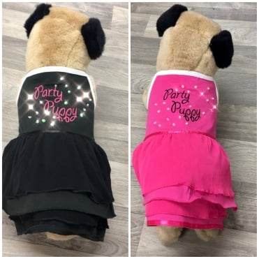 Pet Couture Crystal Party Puppy Dress