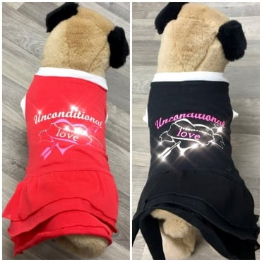 Pet Couture Unconditional Love Dog Dress