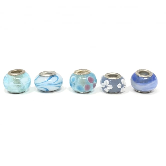 Set of assorted Charms Blue Sky